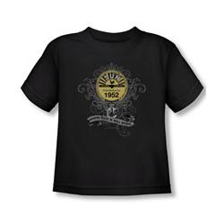 Sun Records - Rockin' Scrolls Toddler T-Shirt In Black