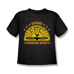 Sun Records - Future Recording Artist Juvee T-Shirt In Black