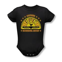 Sun Records - Future Recording Artist Infant T-Shirt In Black