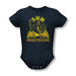 Sun Records - An American Icon Infant T-Shirt In Navy