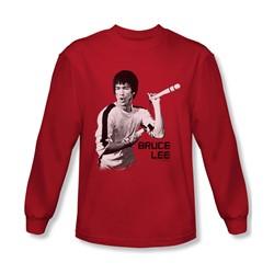 Bruce Lee - Mens Nunchucks Longsleeve T-Shirt