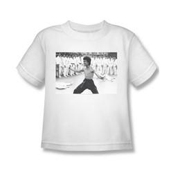 Bruce Lee Martial Arts Nunchucks Little Boys T-Shirt Tee