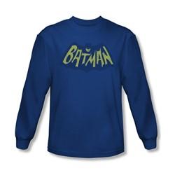 Batman - Mens Show Bat Logo Longsleeve T-Shirt