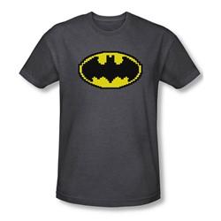 Batman - Mens Pixel Symbol T-Shirt