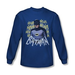 Batman Classic Tv - Mens Theme Song Longsleeve T-Shirt
