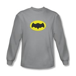 Batman Classic Tv - Mens Chest Logo Longsleeve T-Shirt