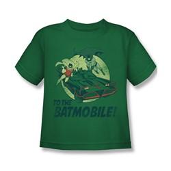 Batman Classic Tv - Little Boys To The Batmobile T-Shirt
