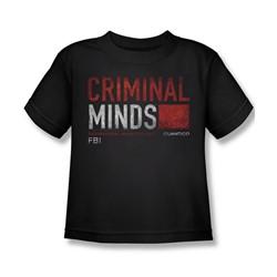 Criminal Minds - Little Boys Title Card T-Shirt