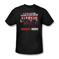 Criminal Minds - Mens Think Like One T-Shirt