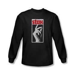 Concord Music - Mens Stax Distressed Longsleeve T-Shirt