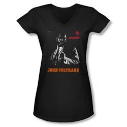 Concord Music - Juniors Coltrane V-Neck T-Shirt