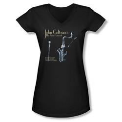 Concord Music - Juniors Paris Coltrane V-Neck T-Shirt