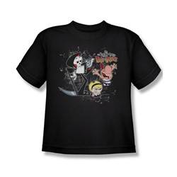 Billy & Mandy - Big Boys Splatter Cast T-Shirt