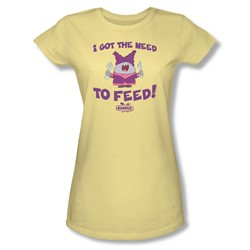 Chowder - Juniors The Need Sheer T-Shirt