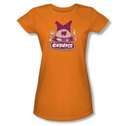 Chowder - Juniors Logo Sheer T-Shirt