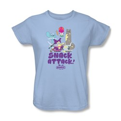 Chowder - Womens Snack Attack T-Shirt