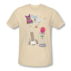 Chowder - Mens Dots Collage Slim Fit T-Shirt