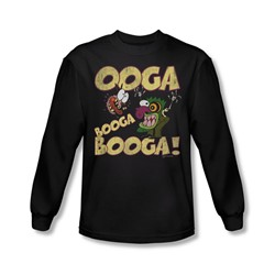 Courage - Mens Ooga Booga Booga Longsleeve T-Shirt