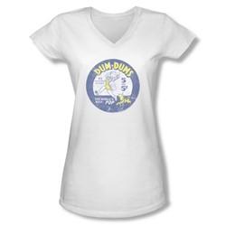 Dum Dums - Juniors Pop Parade V-Neck T-Shirt