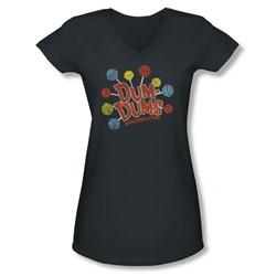 Dum Dums - Juniors Original Pops V-Neck T-Shirt