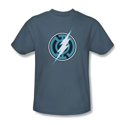 Green Lantern - Mens Blue Lantern Flash T-Shirt