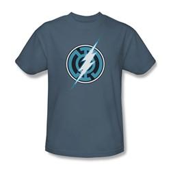 Green Lantern - Mens Blue Lantern Flash T-Shirt