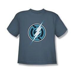 Green Lantern - Big Boys Blue Lantern Flash T-Shirt