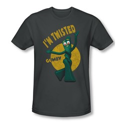 Gumby - Mens Twisted Slim Fit T-Shirt