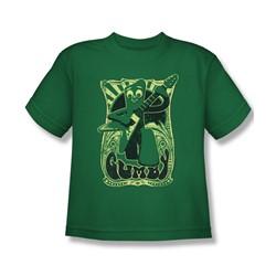 Gumby - Big Boys Vintage Rock Poster T-Shirt