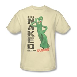 Gumby - Mens Buck Naked T-Shirt