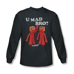 Gumby - Mens U Mad Bro Longsleeve T-Shirt