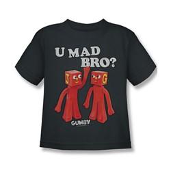 Gumby - Little Boys U Mad Bro T-Shirt