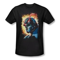 Jla - Mens Darkseid Is Slim Fit T-Shirt