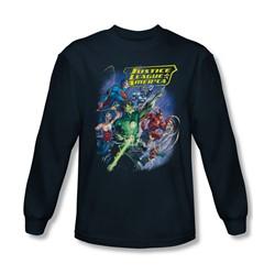 Jla - Mens Onward Longsleeve T-Shirt