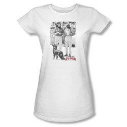 Cheech & Chong - Juniors Square Sheer T-Shirt