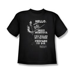 Princess Bride - Big Boys Hello Again T-Shirt