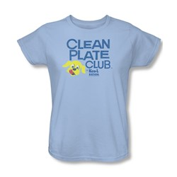 Ken L Ration - Womens Clean Plate T-Shirt
