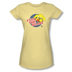 Ken L Ration - Juniors Feed The Beast Sheer T-Shirt