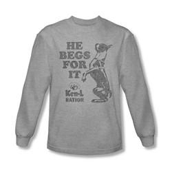 Ken L Ration - Mens Begs Longsleeve T-Shirt