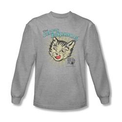 Puss N Boots - Mens Cats Pajamas Longsleeve T-Shirt