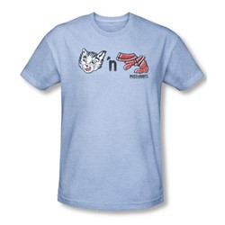 Puss N Boots - Mens Rebus Logo T-Shirt