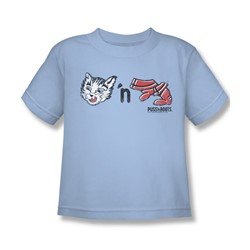 Puss N Boots - Little Boys Rebus Logo T-Shirt