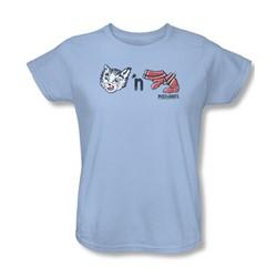 Puss N Boots - Womens Rebus Logo T-Shirt