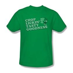 Puss N Boots - Mens Chop Lickin Tasty Goodness T-Shirt