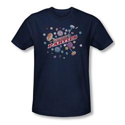 Smarties - Mens Parties Slim Fit T-Shirt