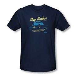Dexter - Mens Moonlight Fishing Slim Fit T-Shirt