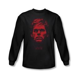 Dexter - Mens Bloody Face Longsleeve T-Shirt