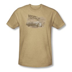 Back To The Future Iii - Mens Carboys And Indians T-Shirt