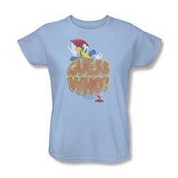 Woody Woodpecker - Womens Guess Who T-Shirt