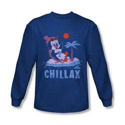 Chilly Willy - Mens Chillax Longsleeve T-Shirt